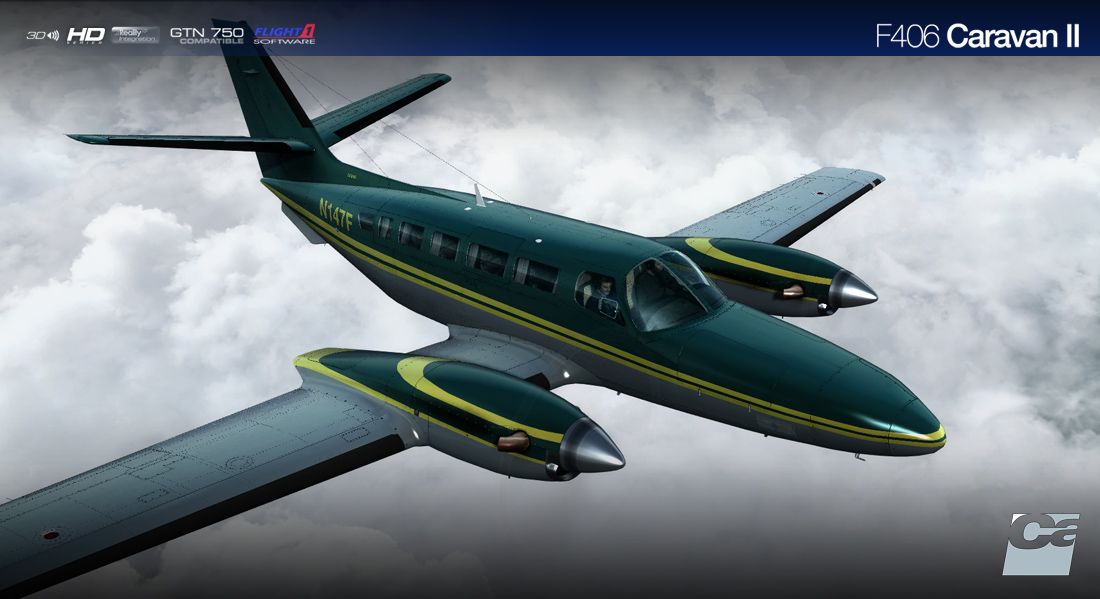 CARENADO - F406 CARAVAN II HD SERIES FSX P3D