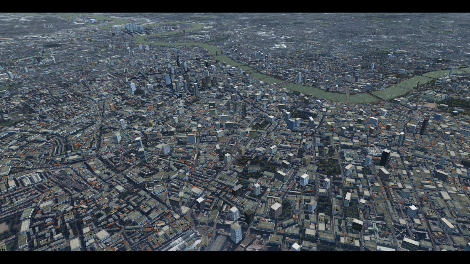 PREALSOFT - HD CITIES - LONDON - AUTOGEN FSX P3D