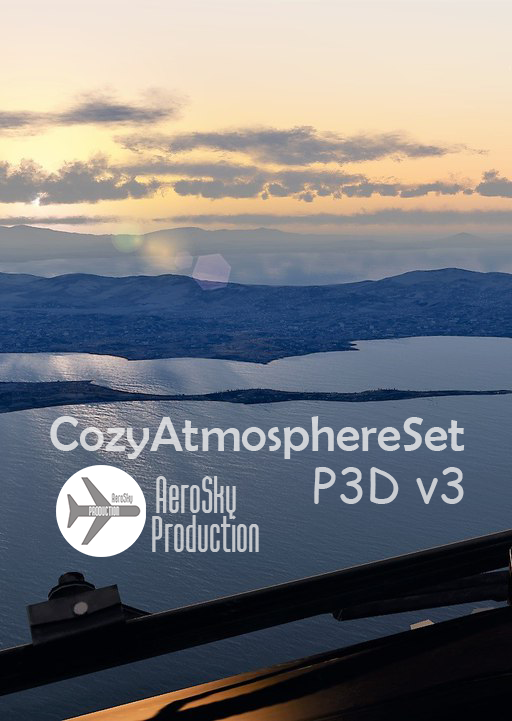 AEROSKY PRODUCTION - COZY ATMOSPHERE SET 天空环境美化设置 P3D V3