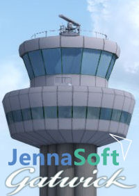 JENNASOFT - LONDON GATWICK P3DV4 P3DV5 AND FSX