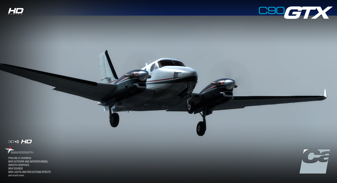 CARENADO - C90GTX KING AIR HD SERIES FSX P3D