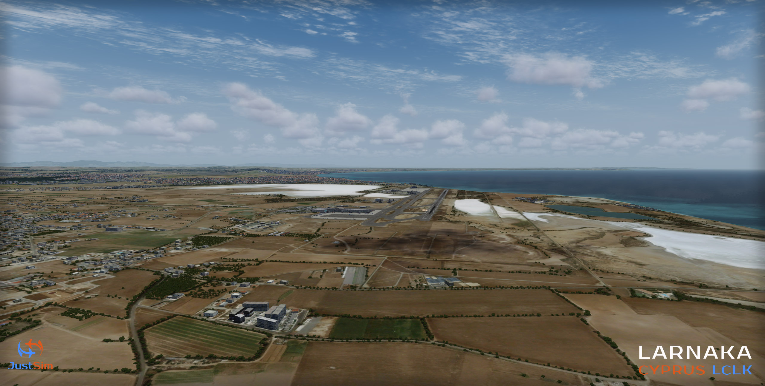 JUSTSIM - LARNACA INTERNATIONAL AIRPORT LCLK P3D4
