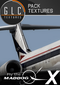 GLC TEXTURES - MD-80 DELTA AIRLINES & HAWAIIAN AIR FSX P3D