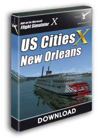 AEROSOFT - US CITIES X - NEW ORLEANS FSX P3D