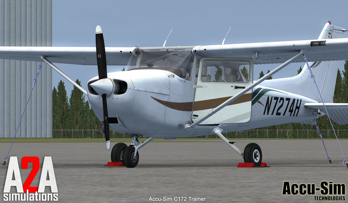 A2A SIMULATIONS - C172 TRAINER FSX ENTERTAINMENT