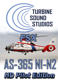 TURBINE SOUND STUDIOS - AS-365N1-2 HD PILOT EDITION SOUNDPACK FOR FSX