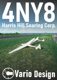 VARIO DESIGN - HARRIS HILL SOARING CORPORATION - 4NY8 MSFS