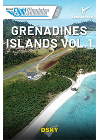 AEROSOFT - DSKY - GRENADINES ISLANDS VOL. 1 MSFS