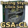 FI - GSA-CL - BOEING CLOCK SET