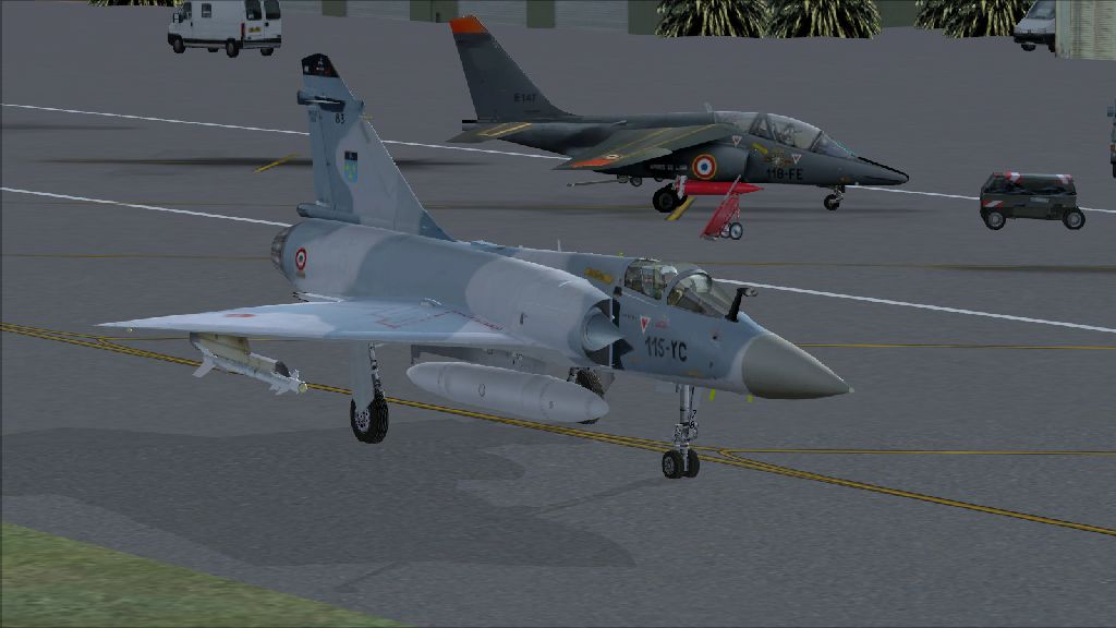 SKYDESIGNERS - FRENCH AIRBASE 126 SOLENZARA