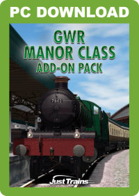 JUSTTRAINS - GWR MANOR CLASS ADD-ON PACK