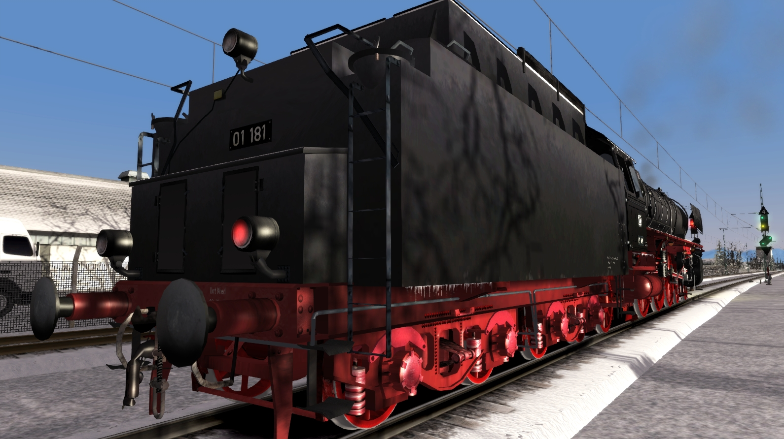 JUSTTRAINS - ROMANTIC RAILROADS GERMAN BR01 CLASS REBOILERED