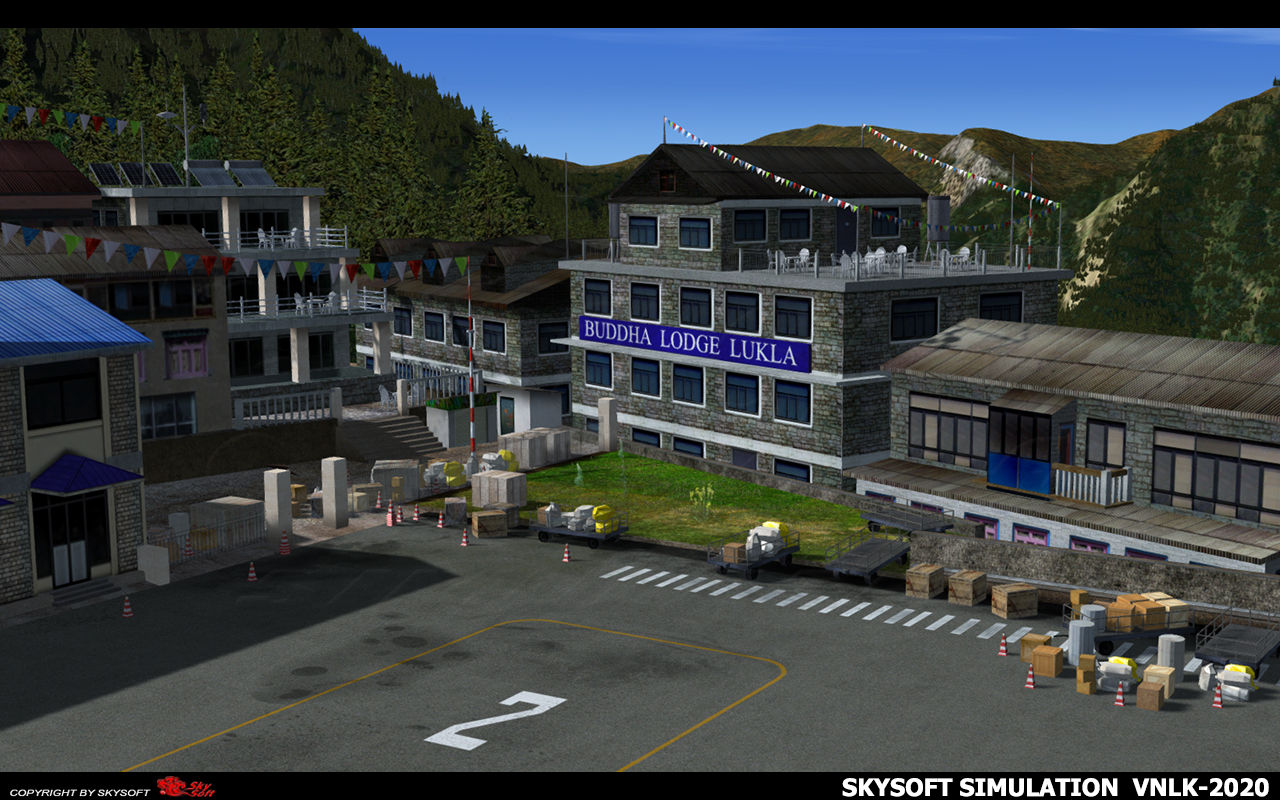 SKYSOFT SIMULATION - 卢卡拉机场 - VNLK 2020