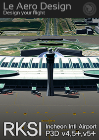 LE AERO DESIGN - RKSI INCHEON INTL AIRPORT P3D4.5, P3D5