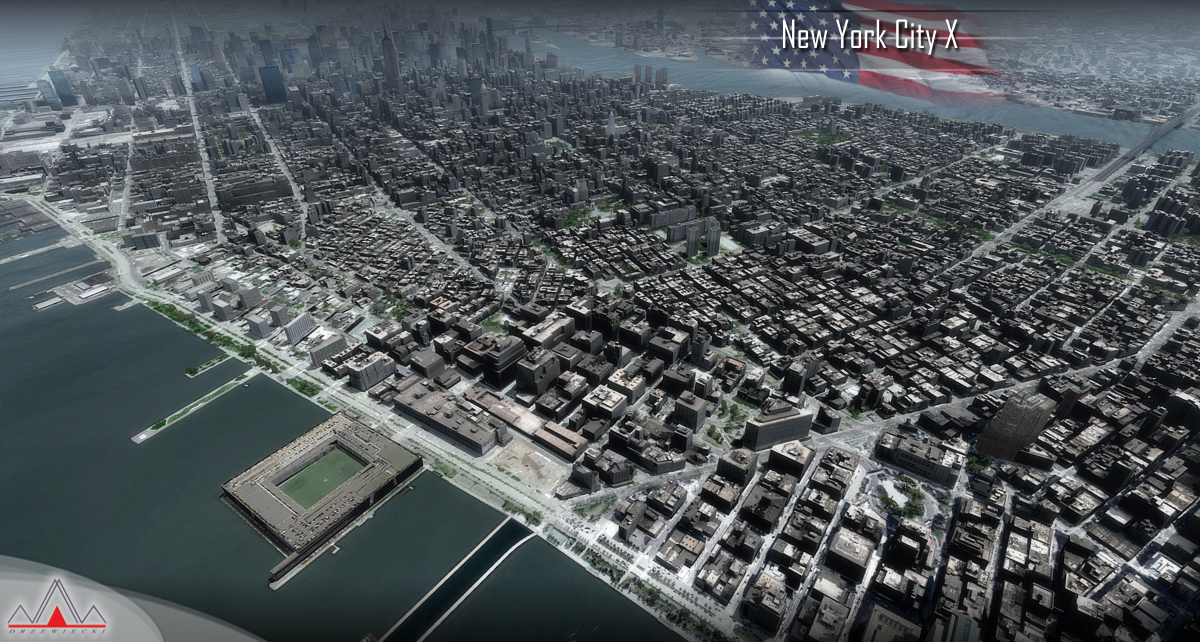 DRZEWIECKI DESIGN - NEW YORK CITY X V2 FSX P3D