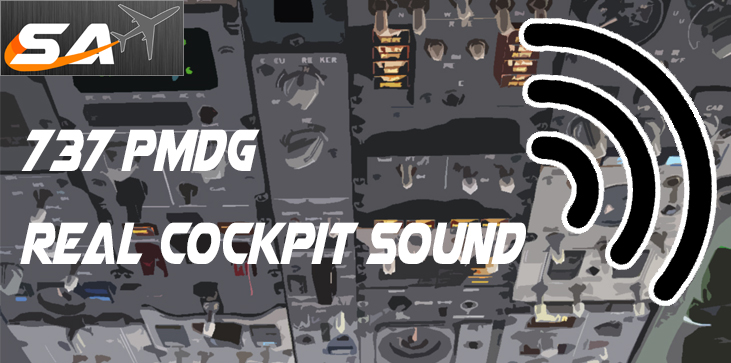 SIMULAAX - 737 PMDG REAL COCKPIT SOUND