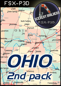 FSXCENERY -   2ND OHIO MUNICIPAL AIRPORTS PACK (4) FSX P3D