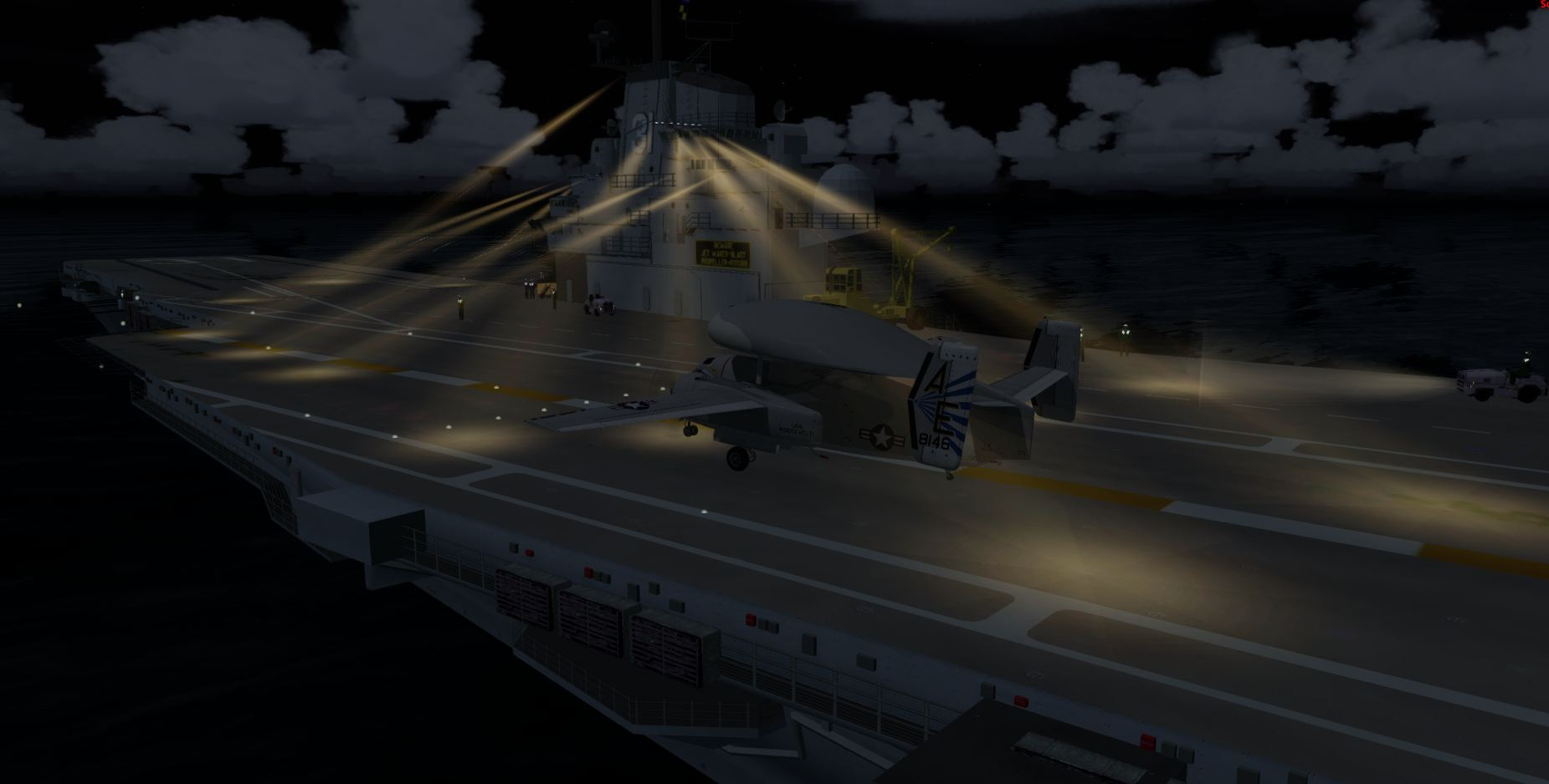 CIMOGT - ESSEX-CLASS AIRCRAFT CARRIER FSX P3D