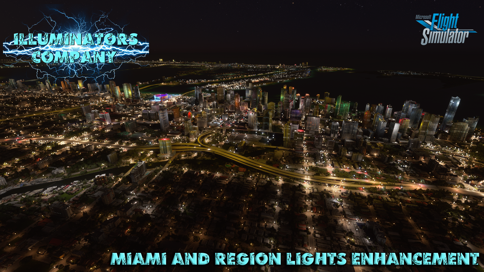 ILLUMINATORS - MIAMI & FORT LAUDERDALE & KEY WEST NIGHT LIGHT ENHANCED MSFS