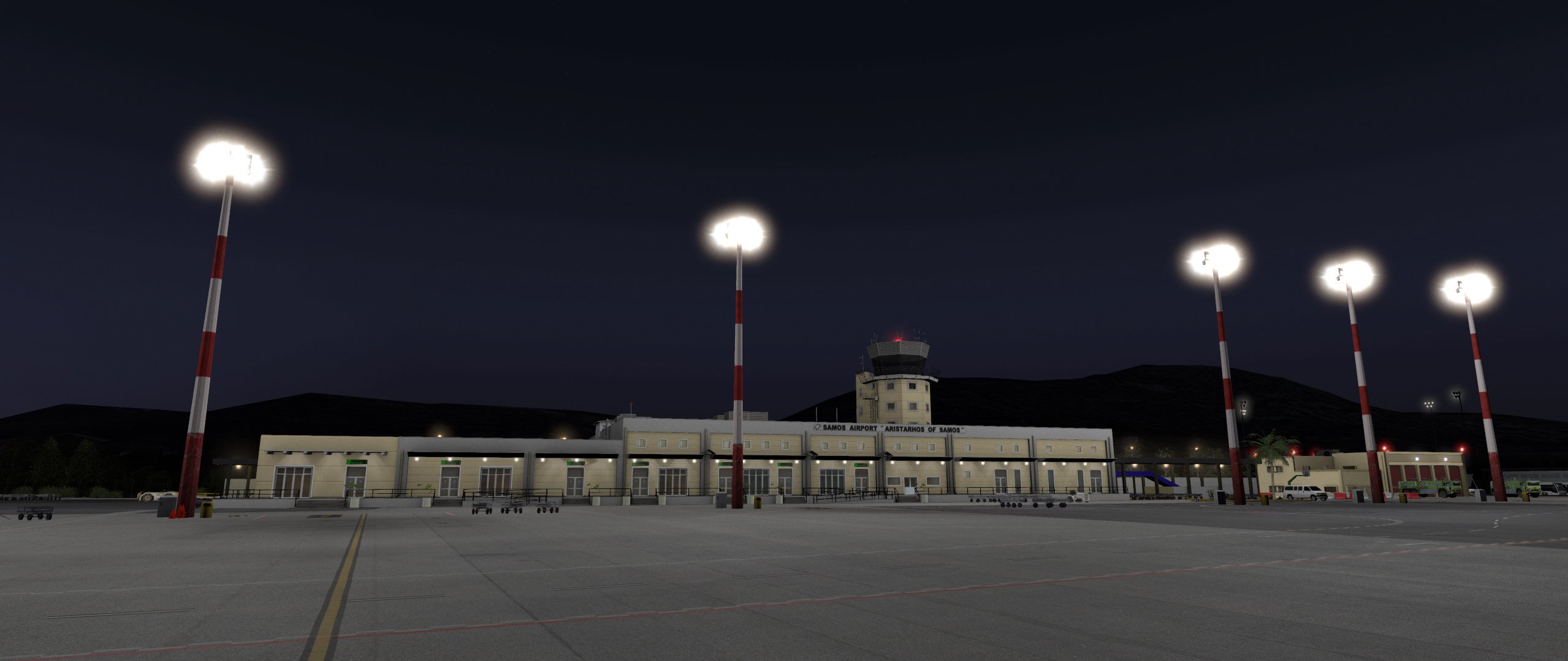 SKYLINE SIMULATIONS - LGSM – SAMOS INTERNATIONAL AIRPORT DANGEROUS AIRPORT V2 X-PLANE 11