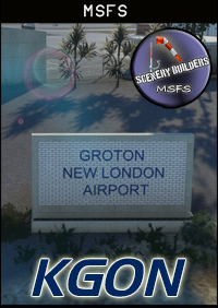 FSXCENERY - KGON GROTON-NEW LONDON AIRPORT MSFS