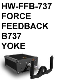 FI - HW-FFB-737 FORCE FEEDBACK B737 YOKE