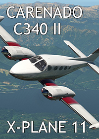 CARENADO - C340 II X-PLANE 11