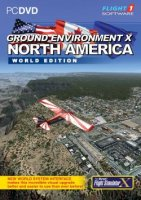 FLIGHT 1 - GEX NORTH AMERICA V2 FSX FSXSE