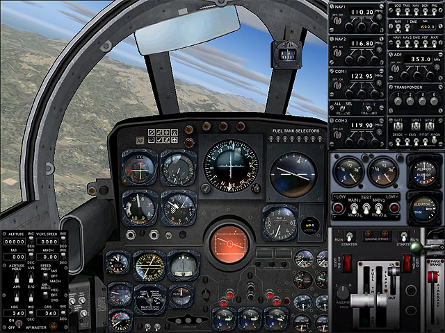 VIRTAVIA - F-89 SCORPION FSX STEAM EDITION