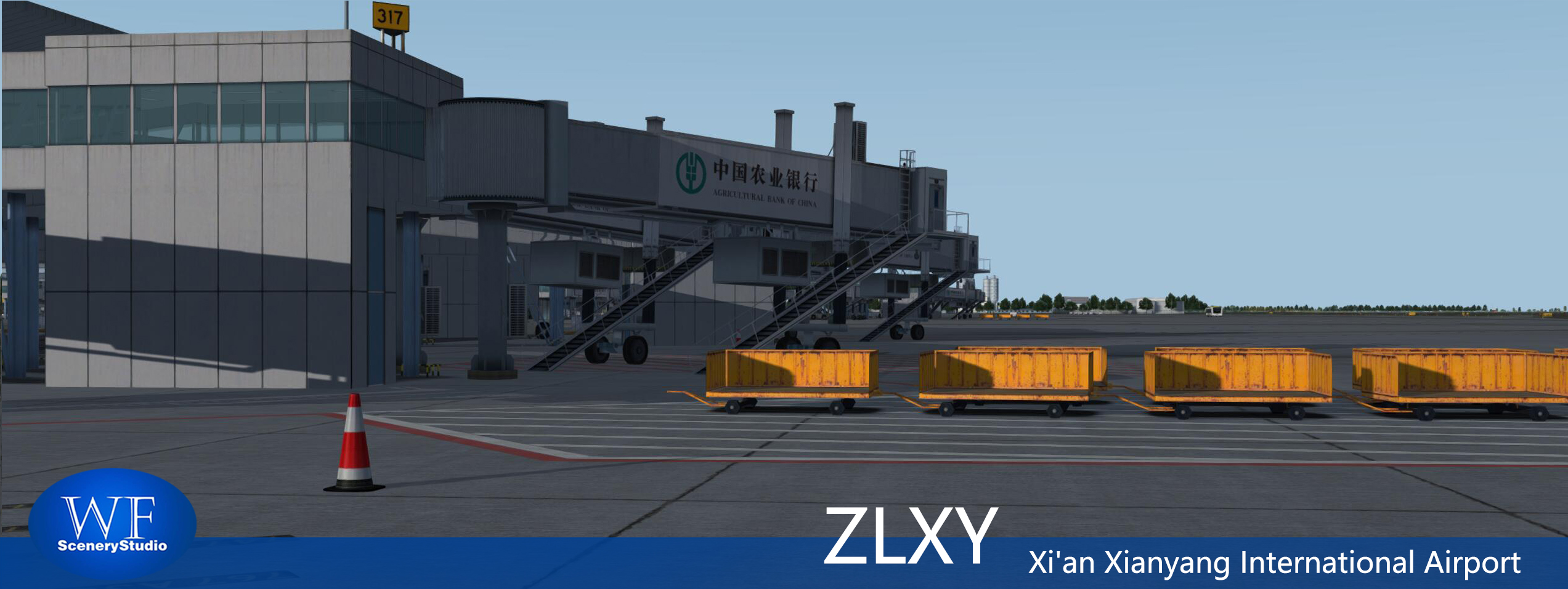 WF SCENERY STUDIO - XI'AN XIANYANG INTERNATIONAL AIRPORT ZLXY P3D4
