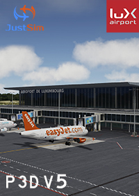 JUSTSIM - LUXEMBOURG FINDEL AIRPORT V2.1 P3D5