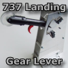 ENGRAVITY - BOEING 737NG - LANDING GEAR LEVER