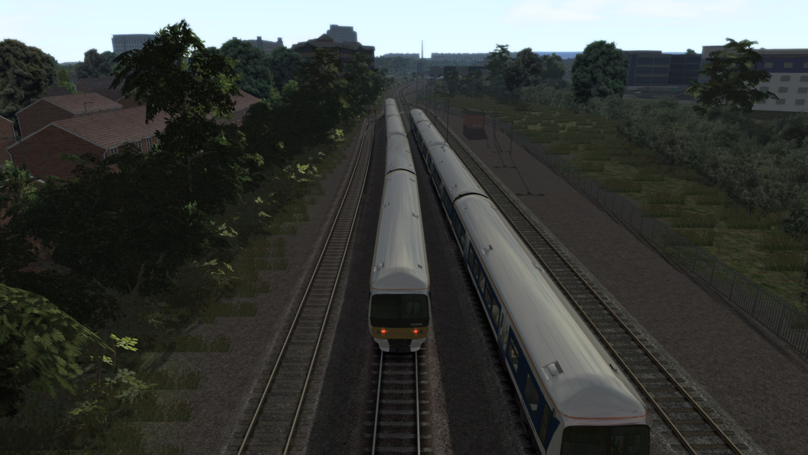 JUSTTRAINS - CHILTERN MAIN LINE LONDON TO AYLESBURY EXTENSION