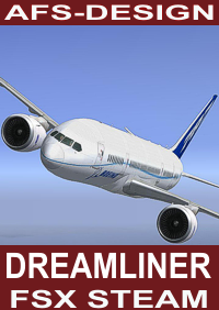 AFS-DESIGN - BOEING 787 DREAMLINER V2 FSX-STEAM