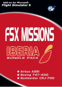 PERFECT FLIGHT - FSX MISSIONS – IBERIA BUNDLE PACK