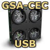 FI - GSA-CEC - CESSNA STYLE ENGINE CLUSTER - USB VERSION