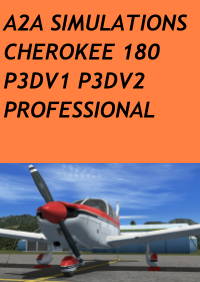 A2A SIMULATIONS - CHEROKEE 180 P3D PROFESSIONAL
