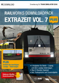 RAILWORKS DOWNLOADPACK - EXTRAZEIT VOL. 7 PLUS - ERWEITERUNG FÜR TRAIN SIMULATOR 2016