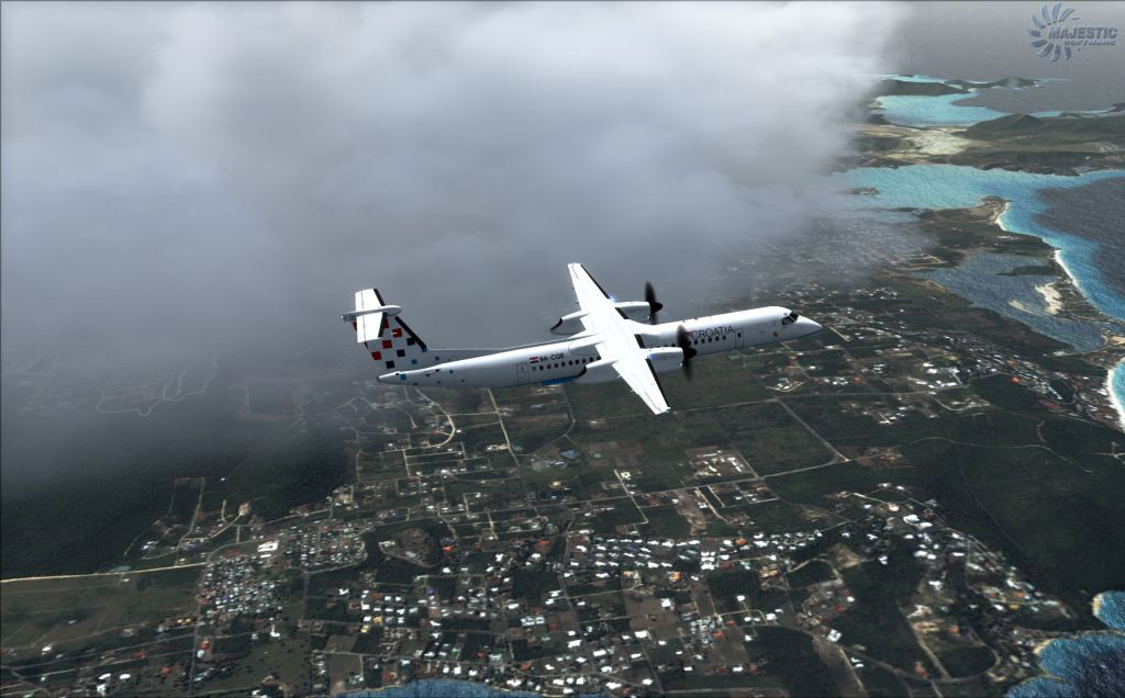MAJESTIC SOFTWARE - DASH 8 Q400 PILOT EDITION 64 BIT P3D