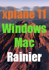 TABURET - XPLANE 11 - RAINIER NATIONAL PARK
