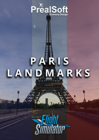 PREALSOFT - PARIS LANDMARKS MSFS - WORLD UPDATE 4 COMPATIBLE