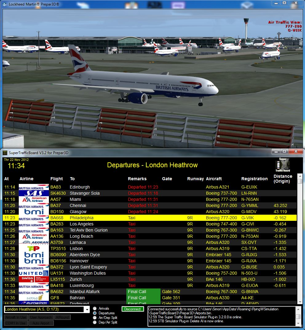 FLYING W SIMULATION - FWS - SUPER TRAFFIC BOARD V3 FOR P3D
