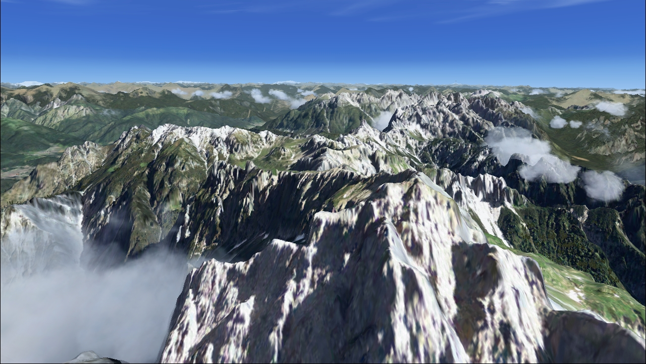 REAL EARTH X - DOLOMITI X: CADORE FSX P3D