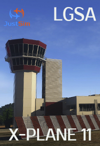 "JUSTSIM - CHANIA INTERNATIONAL AIRPORT ""DASKALOGIANNIS""  - X-PLANE 11"