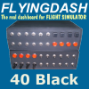 FLYINGDASH - 40 BLACK