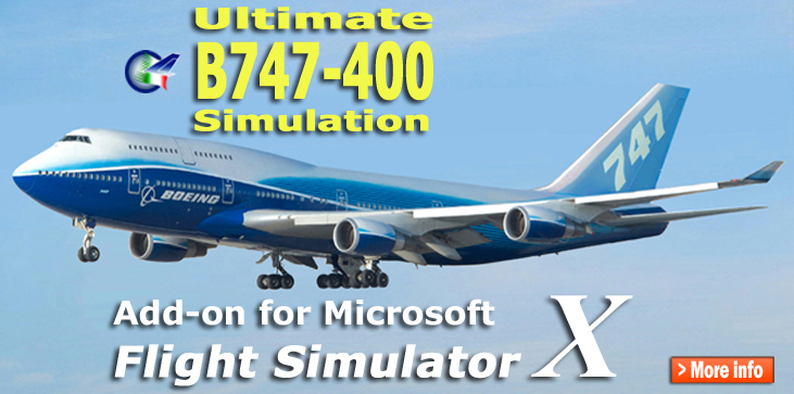 PERFECT FLIGHT - ULTIMATE B747-400 SIMULATION - FSX
