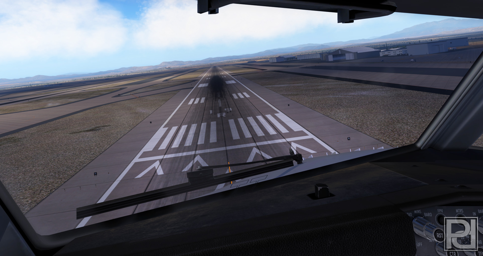 PYREEGUE DEV CO. - AIRPORT LAYOUT ENHANCEMENT SOLUTION X-PLANE 11