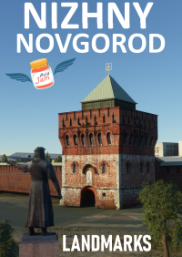 AVIAJAM PRODUCTION - NIZHNY NOVGOROD LANDMARKS MSFS