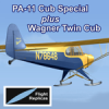 FLIGHT REPLICAS - PA-11 CUB SPECIAL