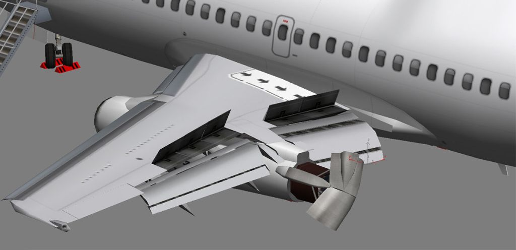 UTT - BOEING 737-200 SOURCE MODEL FOR 3DS MAX